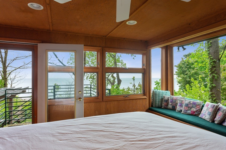 Real Estate Photography - 15492 Lakeshore, Lakeside, MI, 49116 - 2nd Bedroom