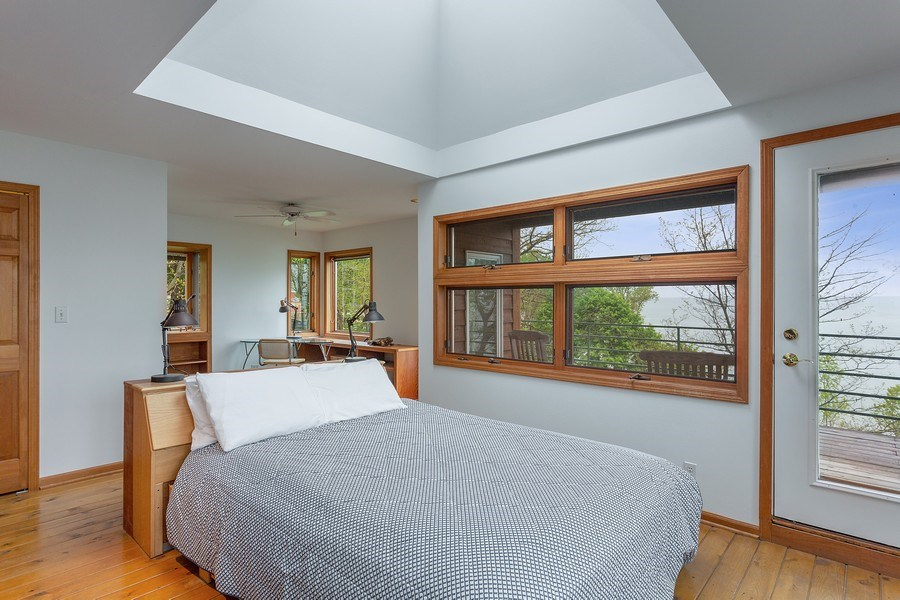 Real Estate Photography - 15492 Lakeshore, Lakeside, MI, 49116 - Master Bedroom