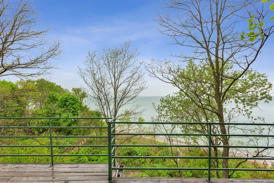 Real Estate Photography - 15492 Lakeshore, Lakeside, MI, 49116 - Balcony