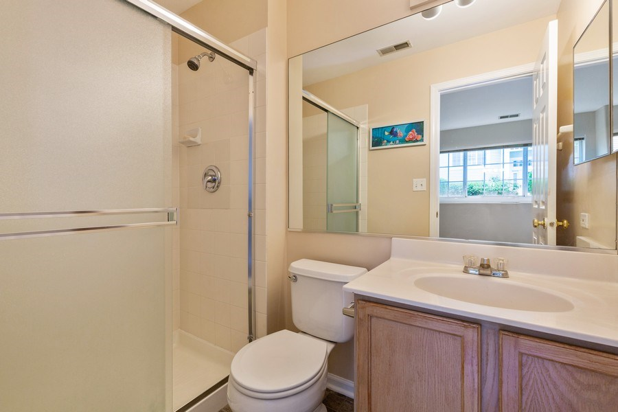 Real Estate Photography - 9475 Harrison Street, Des Plaines, IL, 60016 - 3rd Bathroom