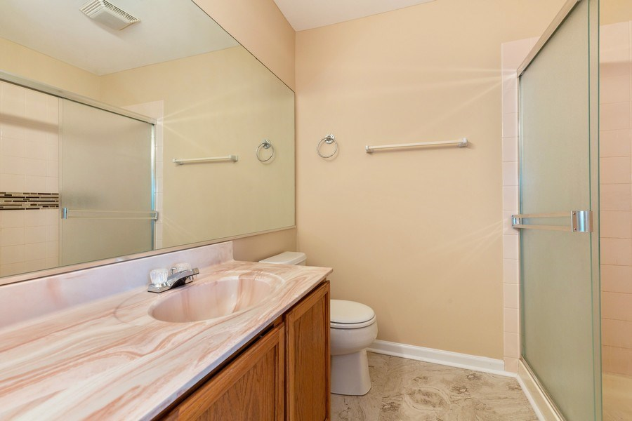 Real Estate Photography - 9475 Harrison Street, Des Plaines, IL, 60016 - Master Bathroom