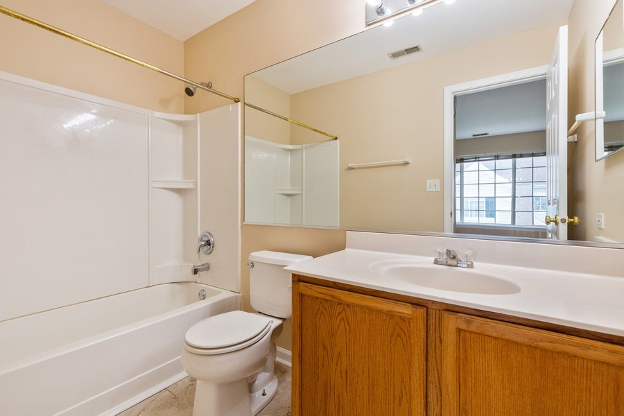 Real Estate Photography - 9475 Harrison Street, Des Plaines, IL, 60016 - 2nd Bathroom