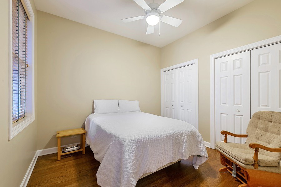 Real Estate Photography - 4821 N. Damen #2, Chicago, IL, 60625 - Second Bedroom
