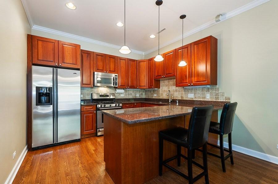 Real Estate Photography - 4821 N. Damen #2, Chicago, IL, 60625 - Kitchen