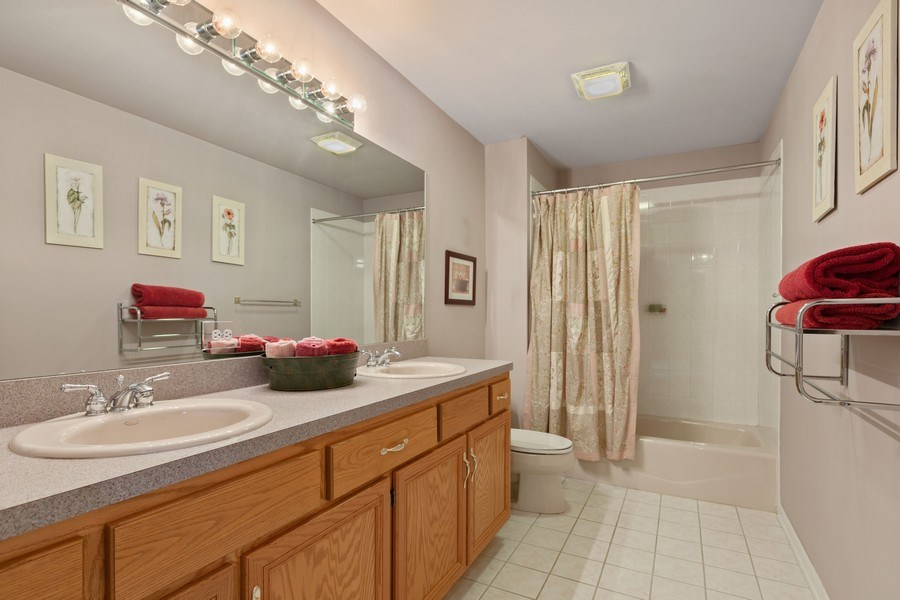 Real Estate Photography - 21685 Cappel Ln, Frankfort, IL, 60423 - Bathroom