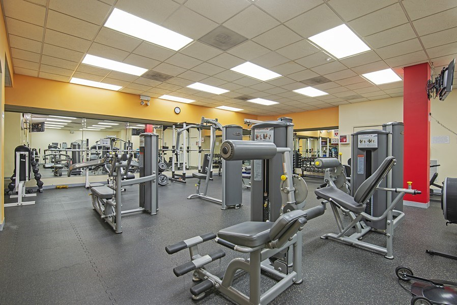 Real Estate Photography - 3200 N LAKE SHORE DRIVE, 2003, CHICAGO, IL, 60657 - Exercise Room