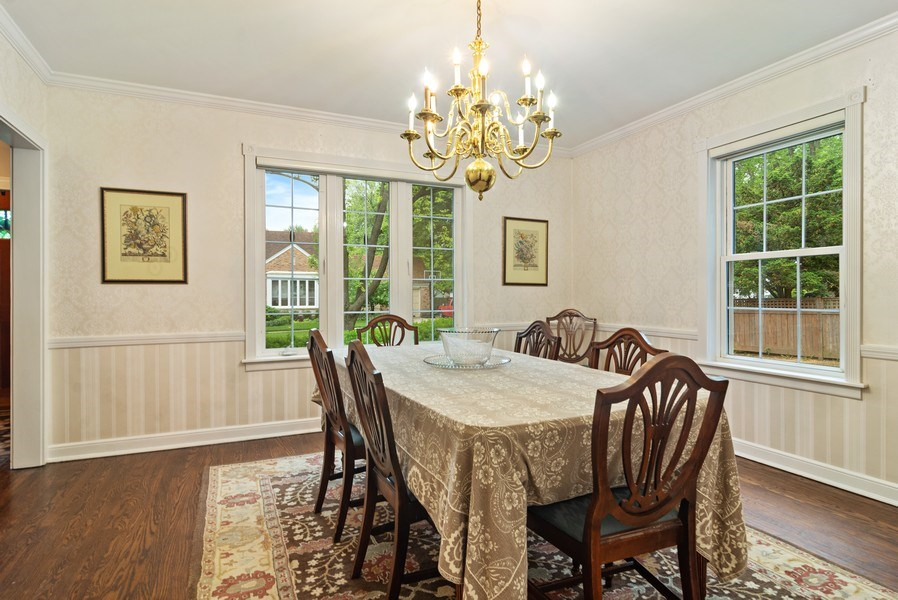 Real Estate Photography - 222 S Albert St, Mount Prospect, IL, 60056 - Dining Room