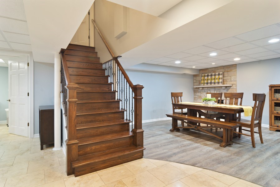 Real Estate Photography - 222 S Albert St, Mount Prospect, IL, 60056 - Basement