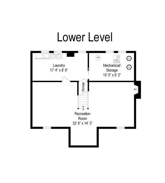 Real Estate Photography - 222 S Albert St, Mount Prospect, IL, 60056 - Floor Plan