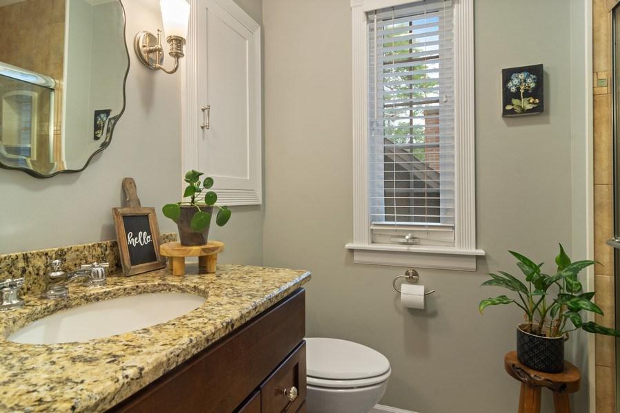 Real Estate Photography - 222 S Albert St, Mount Prospect, IL, 60056 - Bathroom