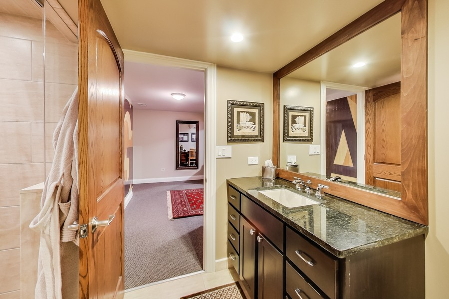 Real Estate Photography - 1231 W Heather, Arlington Heights, IL, 60005 - Basement Bath RV