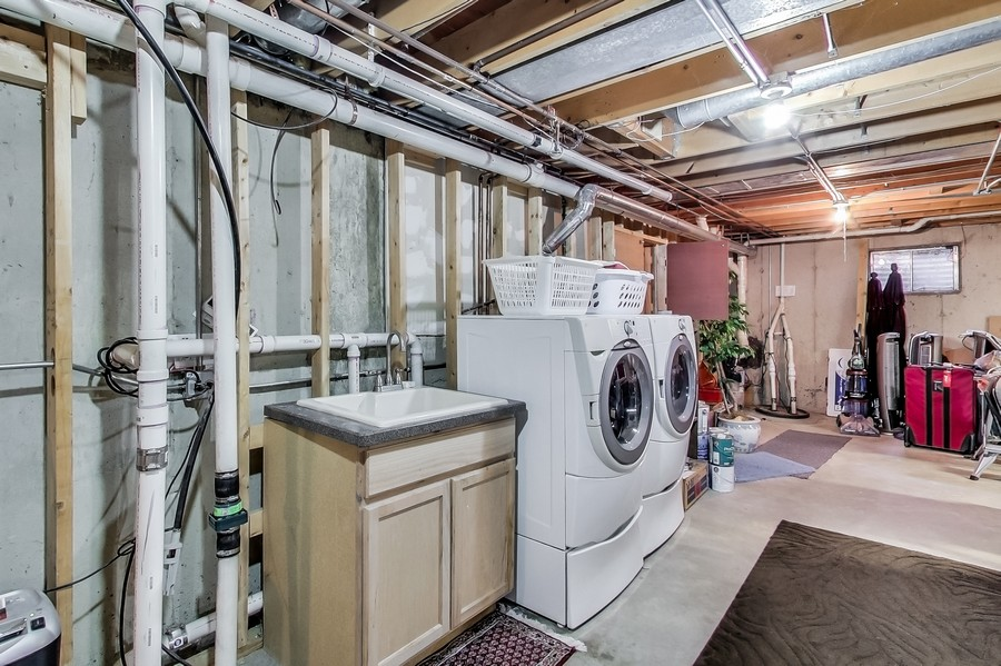 Real Estate Photography - 1231 W Heather, Arlington Heights, IL, 60005 - Utility Room RV