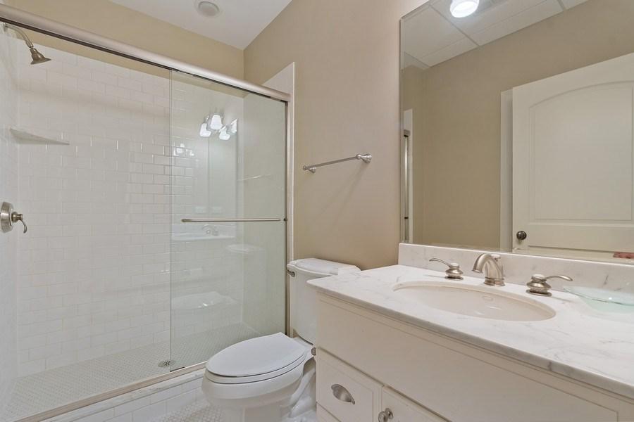 Real Estate Photography - 205 Laurel, Highland Park, IL, 60035 - Bathroom