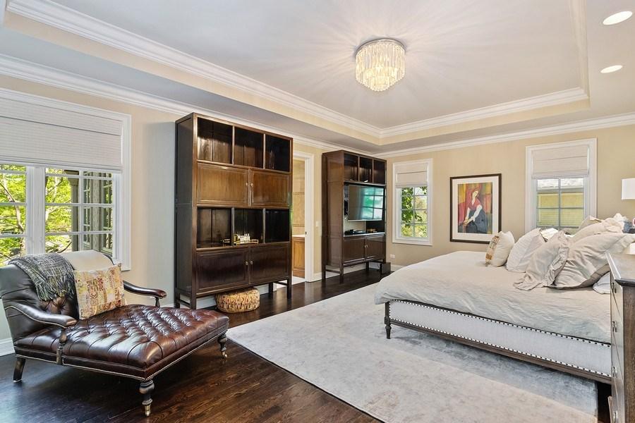 Real Estate Photography - 205 Laurel, Highland Park, IL, 60035 - Master Bedroom