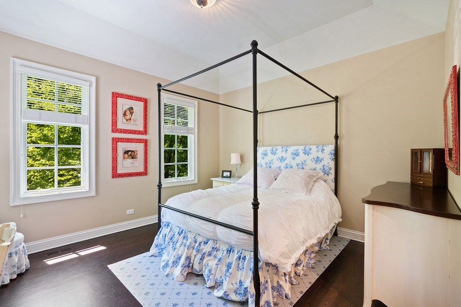 Real Estate Photography - 205 Laurel, Highland Park, IL, 60035 - 3rd Bedroom