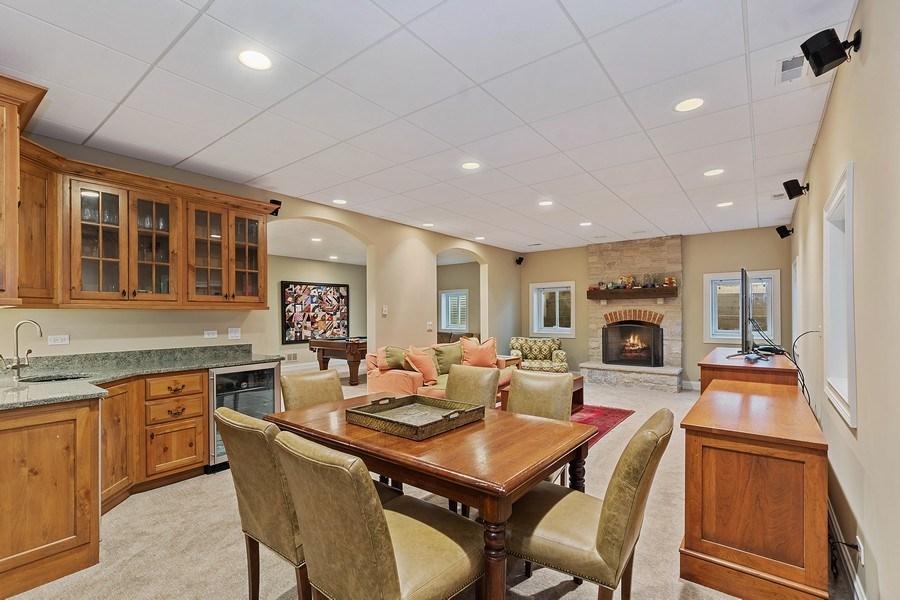 Real Estate Photography - 205 Laurel, Highland Park, IL, 60035 - Recreation Room