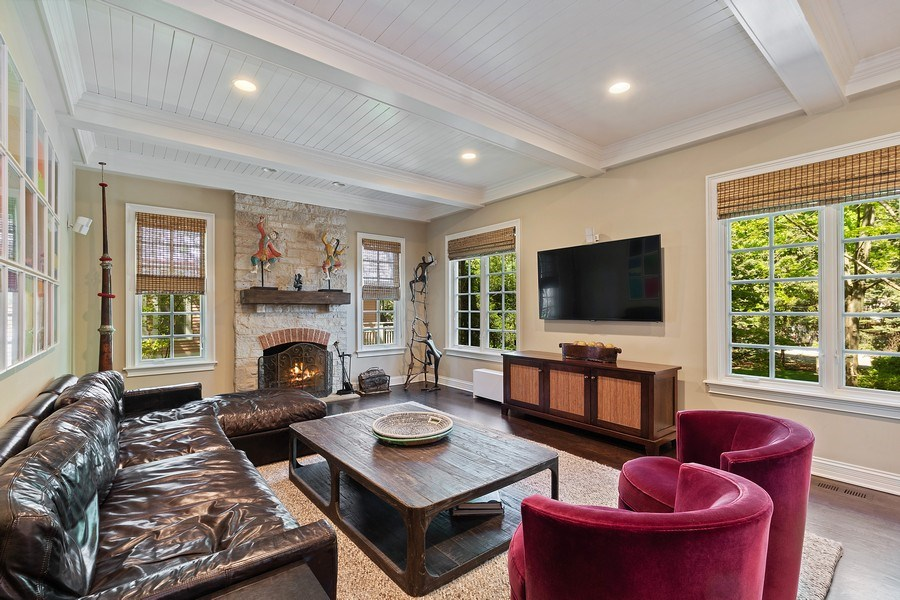 Real Estate Photography - 205 Laurel, Highland Park, IL, 60035 - Family Room