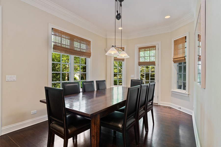 Real Estate Photography - 205 Laurel, Highland Park, IL, 60035 - Breakfast Room