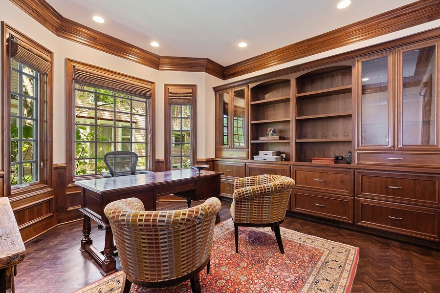 Real Estate Photography - 205 Laurel, Highland Park, IL, 60035 - Office