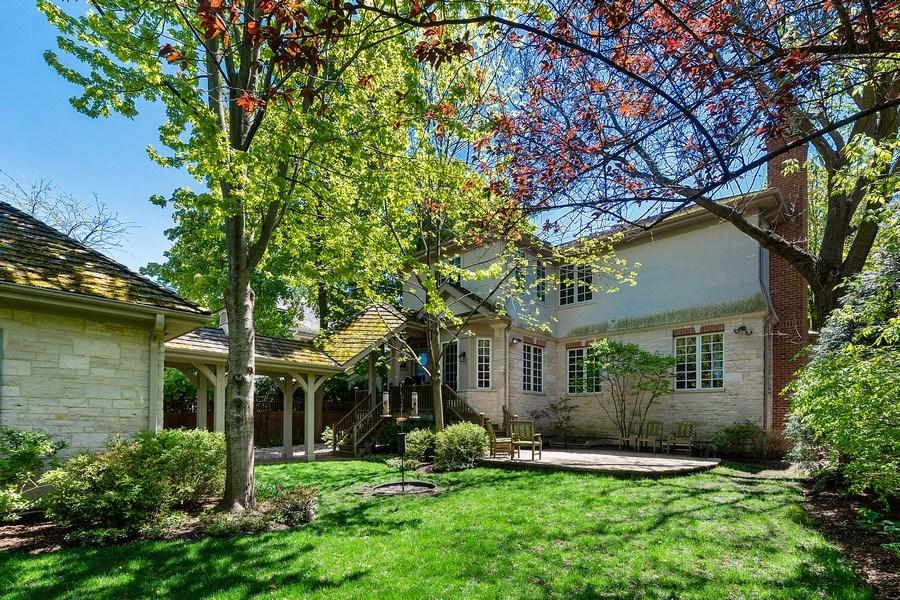 Real Estate Photography - 205 Laurel, Highland Park, IL, 60035 - Exterior Back
