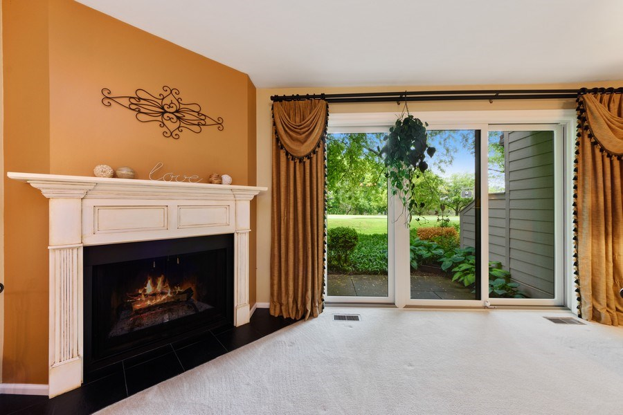 Real Estate Photography - 376 N Oak Hill Road, Lake Barrington, IL, 60010 - Living Room