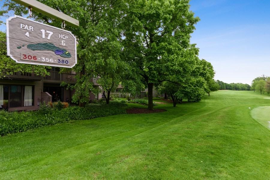 Real Estate Photography - 376 N Oak Hill Road, Lake Barrington, IL, 60010 - Rear View