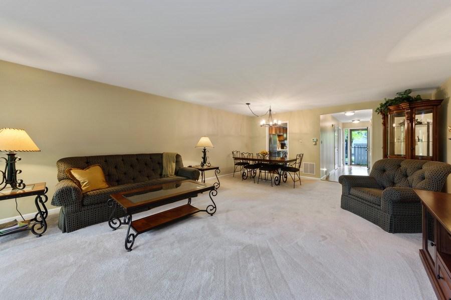 Real Estate Photography - 376 N Oak Hill Road, Lake Barrington, IL, 60010 - Living Room/Dining Room