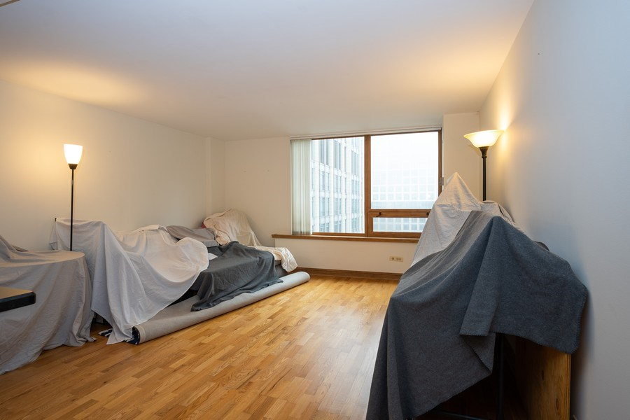 Real Estate Photography - 233 E. Erie St., Unit 2205, Chicago, IL, 60611 - Living Room