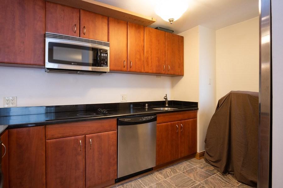 Real Estate Photography - 233 E. Erie St., Unit 2205, Chicago, IL, 60611 - Kitchen