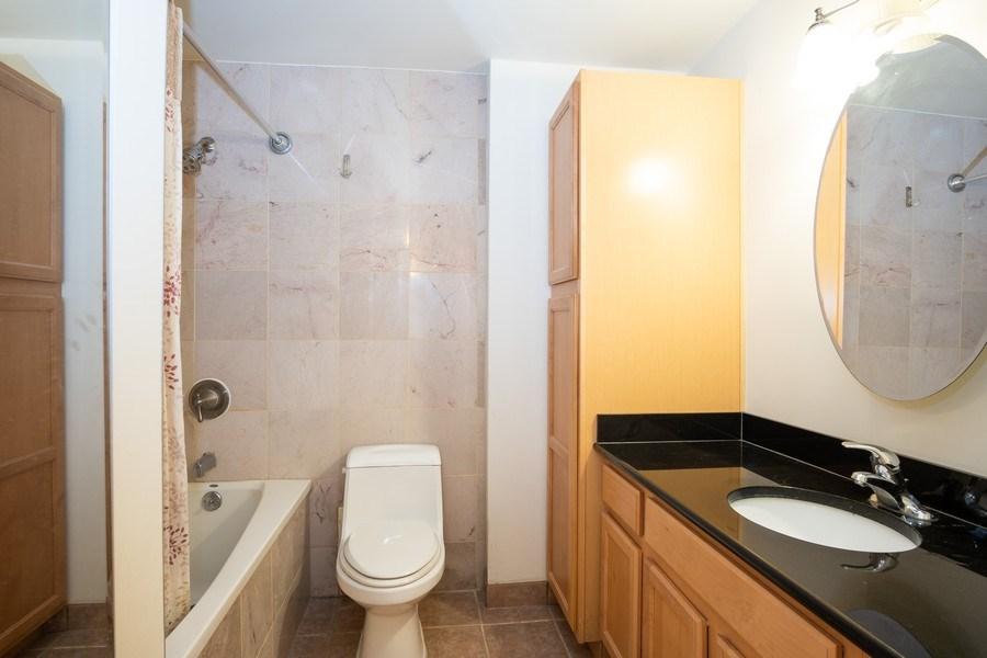 Real Estate Photography - 233 E. Erie St., Unit 2205, Chicago, IL, 60611 - Bathroom
