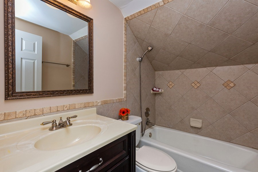 Real Estate Photography - 30 Whittington Course, St Charles, IL, 60174 - Master Bathroom