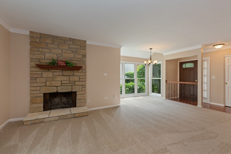 Real Estate Photography - 30 Whittington Course, St Charles, IL, 60174 - Living Room