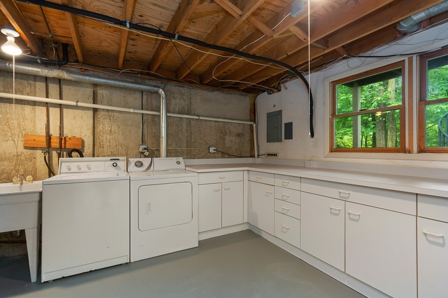 Real Estate Photography - 30 Whittington Course, St Charles, IL, 60174 - Laundry Room