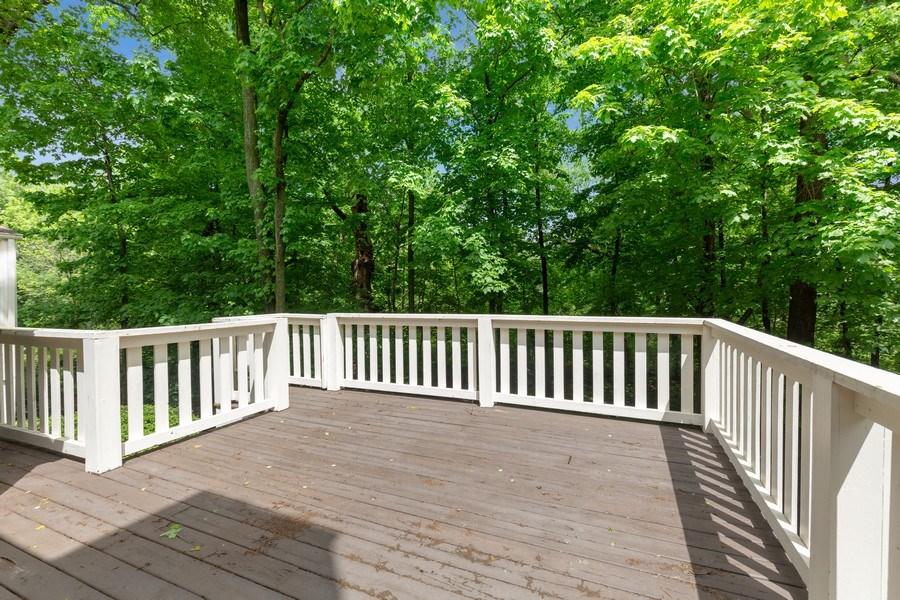 Real Estate Photography - 30 Whittington Course, St Charles, IL, 60174 - Deck