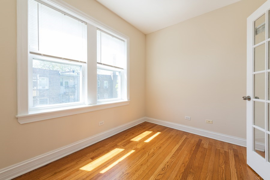 Real Estate Photography - 7054 N Damen Ave, Unit 3, Chicago, IL, 60626 - 2nd Bedroom