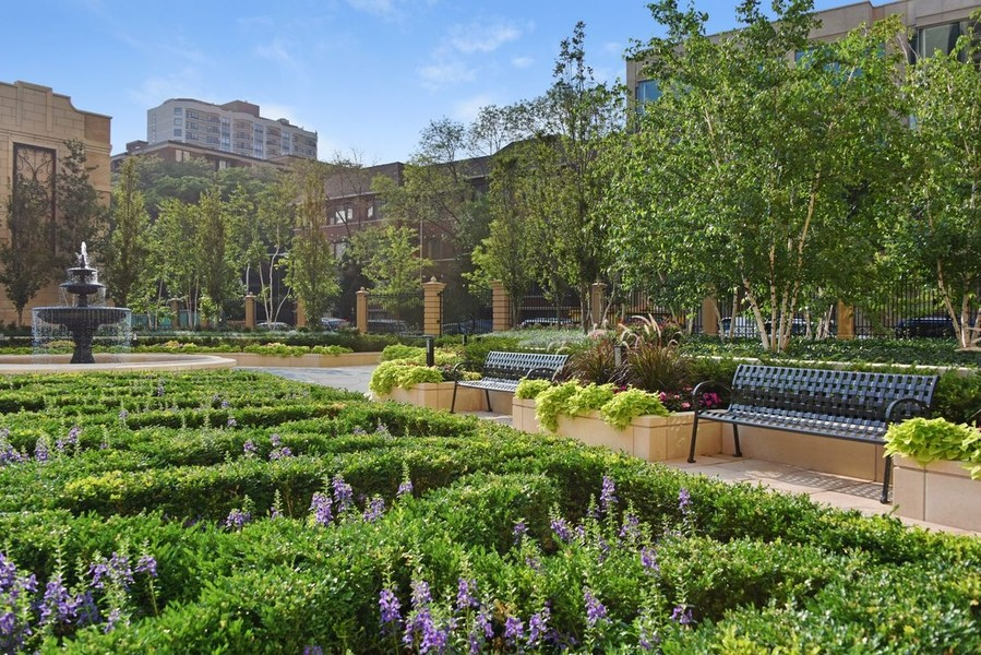 Real Estate Photography - 2550 N Lakeview, N703, Chicago, IL, 60614 - LP2550 Gardens