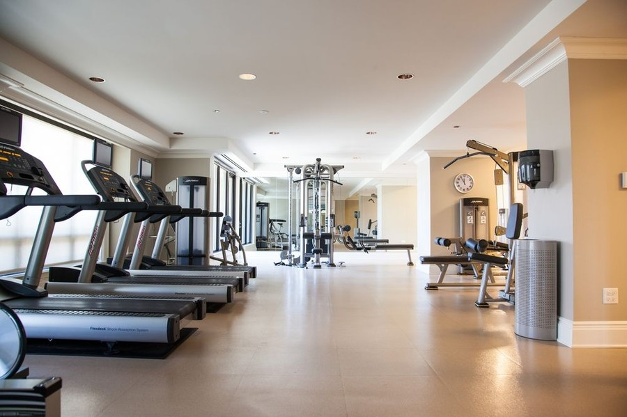 Real Estate Photography - 2550 N Lakeview, N703, Chicago, IL, 60614 - Fitness Center