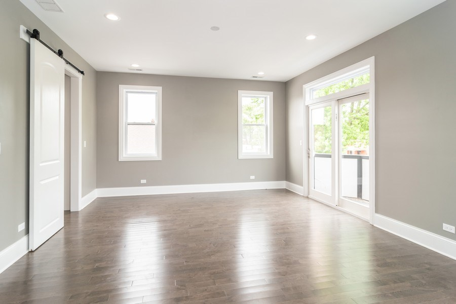Real Estate Photography - 2411 Highland Ave, Berwyn, IL, 60402 - Master Bedroom