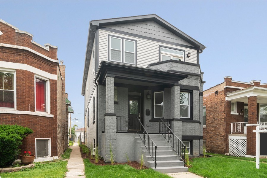 Real Estate Photography - 2411 Highland Ave, Berwyn, IL, 60402 - Front View