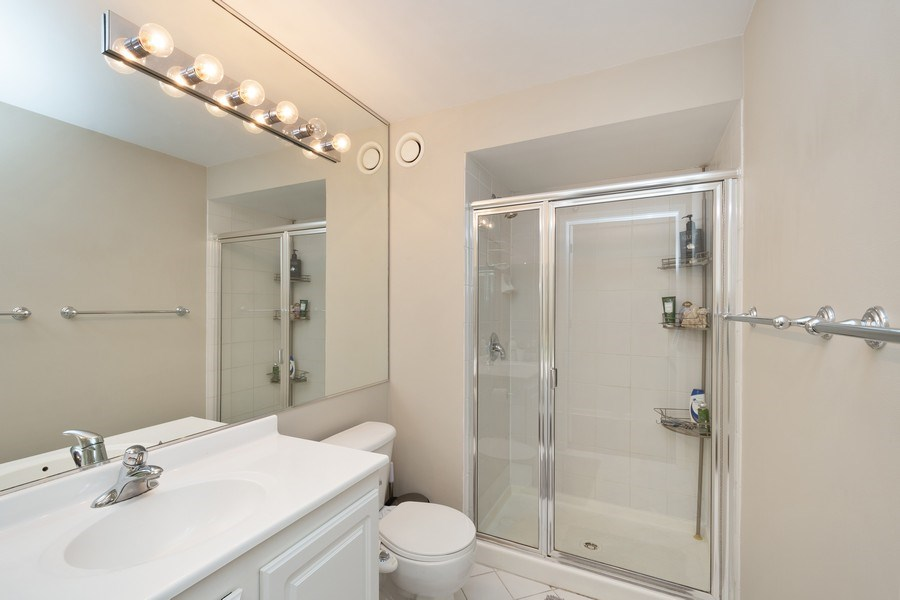 Real Estate Photography - 345 N LaSalle, unit 4602, Chicago, IL, 60654 - Bathroom