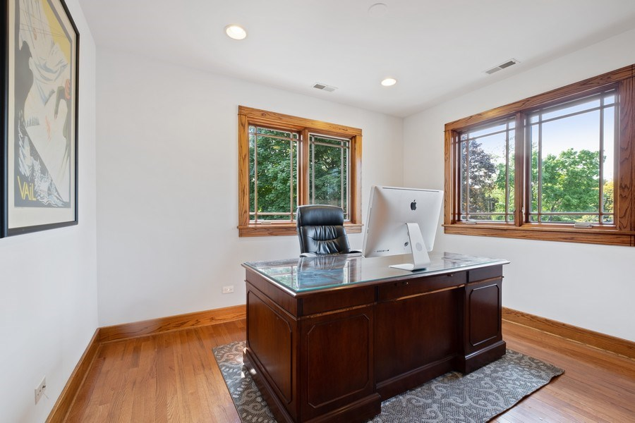 Real Estate Photography - 451 Broadview, Highland Park, IL, 60035 - 3rd Bedroom