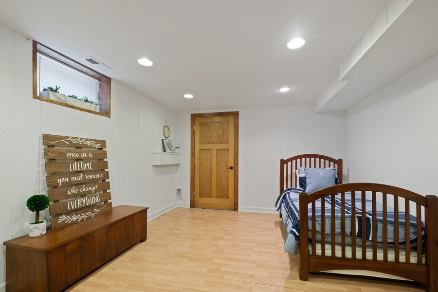 Real Estate Photography - 451 Broadview, Highland Park, IL, 60035 - 4th Bedroom