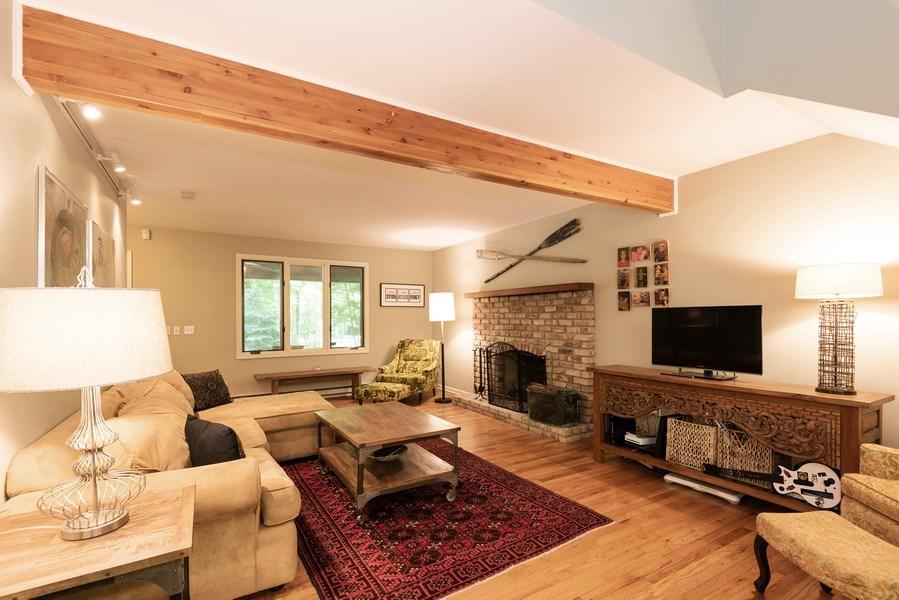 Real Estate Photography - 401 E Madison Ave, New Buffalo, MI, 49117 - Living Room