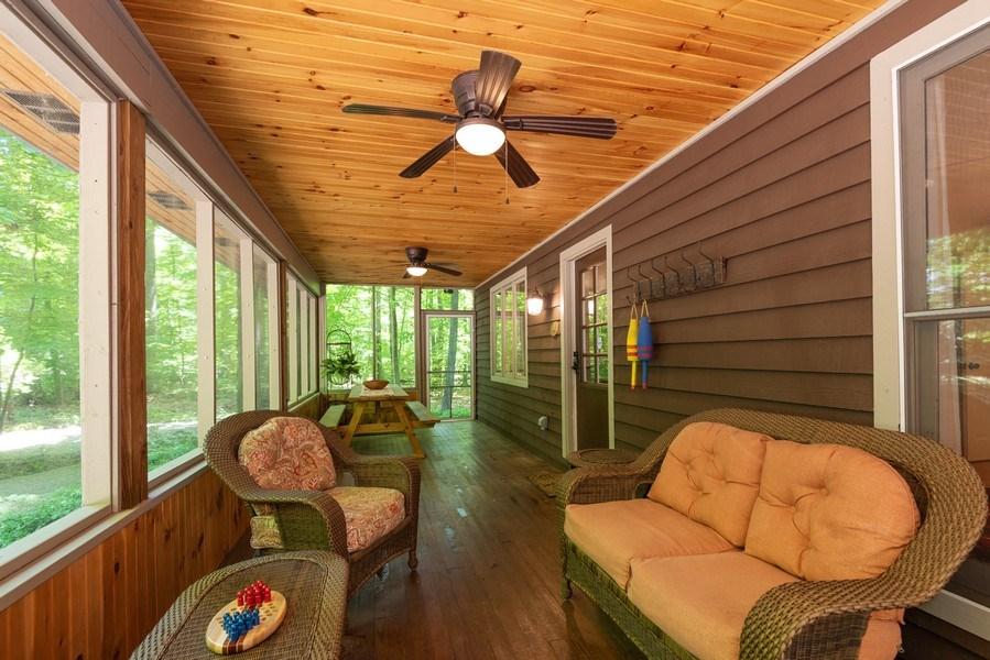 Real Estate Photography - 401 E Madison Ave, New Buffalo, MI, 49117 - Patio