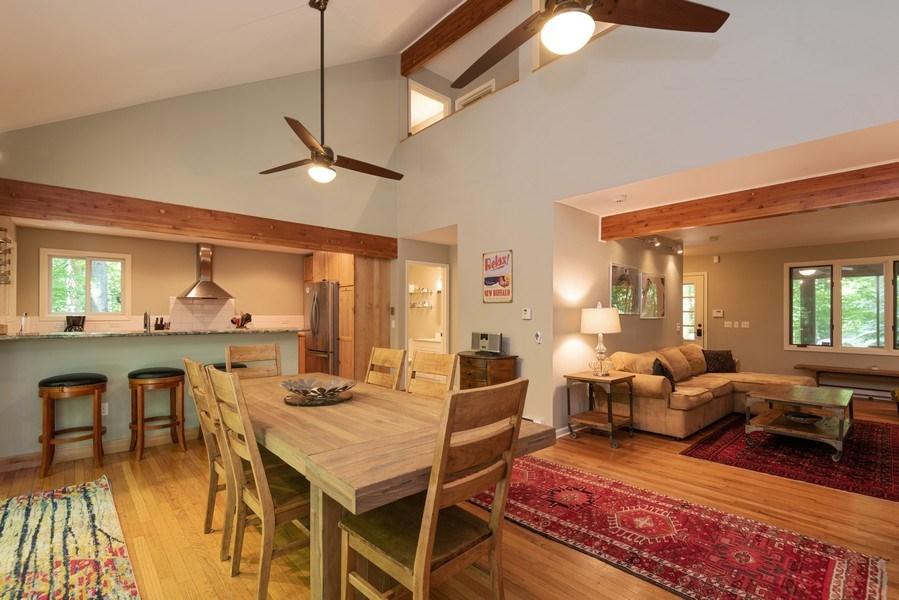 Real Estate Photography - 401 E Madison Ave, New Buffalo, MI, 49117 - Living Room / Dining Room