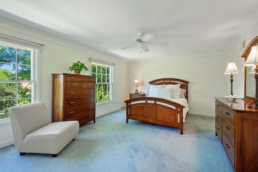 Real Estate Photography - 308 Grayfriars Ln, Inverness, IL, 60067 - 3rd Bedroom