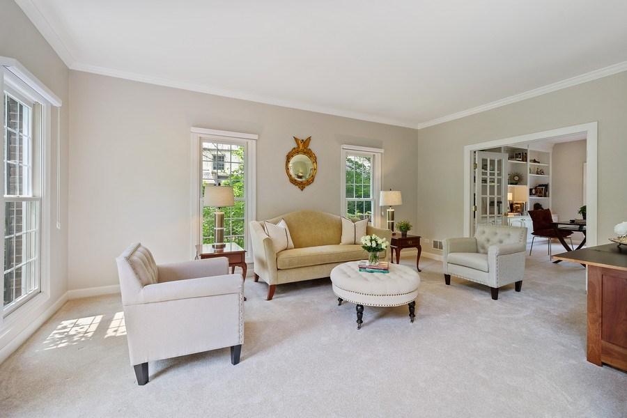 Real Estate Photography - 664 Oak Rd, Barrington, IL, 60010 - Living Room