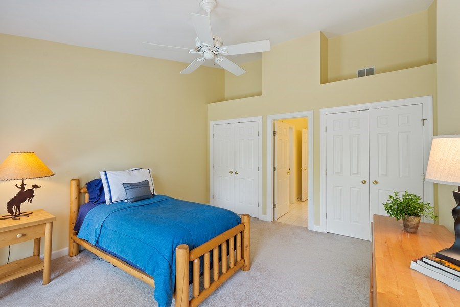 Real Estate Photography - 664 Oak Rd, Barrington, IL, 60010 - 4th Bedroom