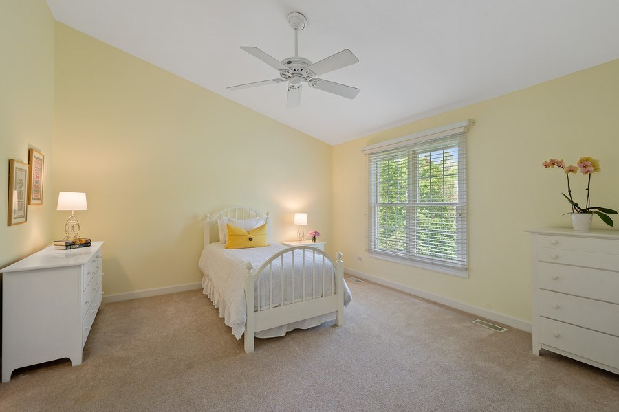 Real Estate Photography - 664 Oak Rd, Barrington, IL, 60010 - 3rd Bedroom