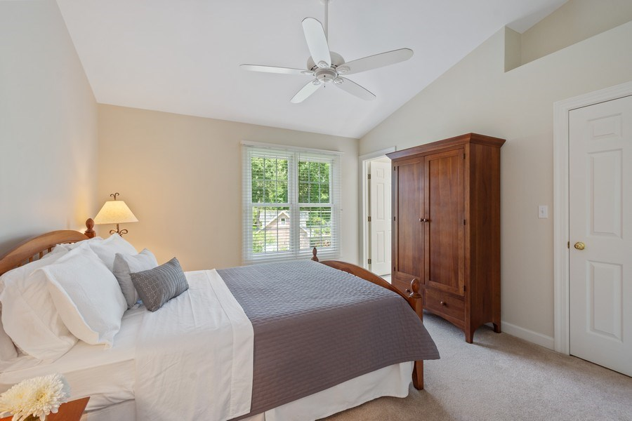 Real Estate Photography - 664 Oak Rd, Barrington, IL, 60010 - 2nd Bedroom Ensuite